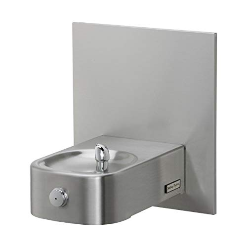 Halsey Taylor 7439007883 Contour Wall Mounted ADA Outdoor Rated Heavy Duty Drinking Fountain