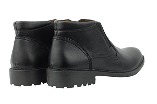 Xposed ,  Herren Chelsea Boots Schwarz