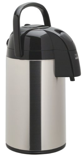 Zojirushi AAWE-30SB Supreme Air Pot Beverage Dispenser, 3.0 L, Polished Stainless