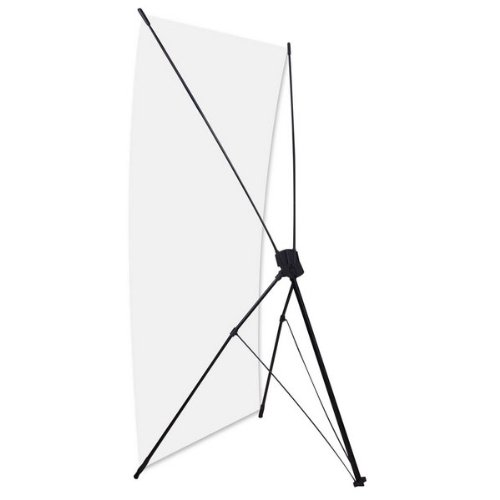 Banner Stand for Displaying Picture 24'' X 63'' Base