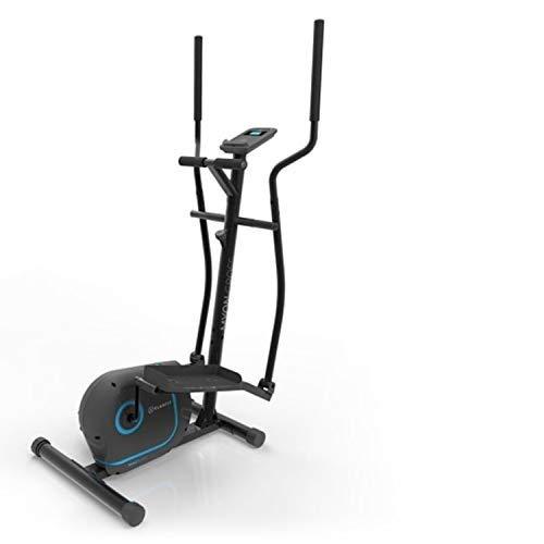 Klarfit Myon Cross crosstrainer 12kg vliegwiel SilentBelt System zwart