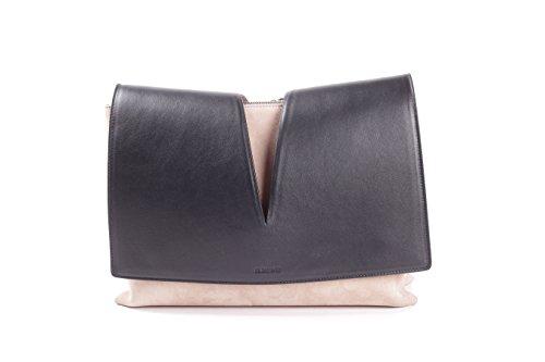 jil-sander-womens-jswg850002wgb69011g-beige-black-leather-shoulder-bag