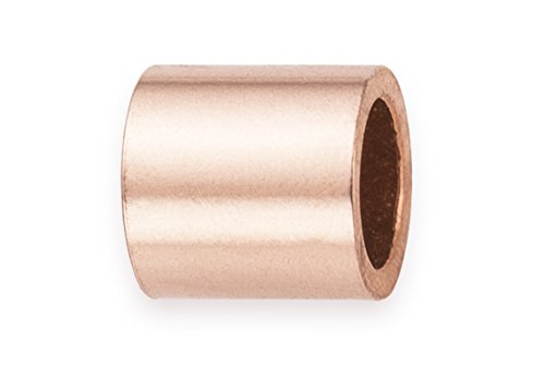 100 Pieces 14Kt Rose Gold Filled Crimp Beads 2x2 mm ()