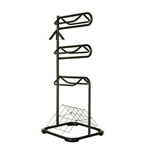Seny Heavy Duty Three Tier Rotatable Saddle Rack Stand H68.5 x W30 x D30.