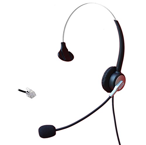 comdio-ch303a11-corded-call-center-phone-headset-with-comfort-fit-headband-for-nec-aspire-nortel-m26