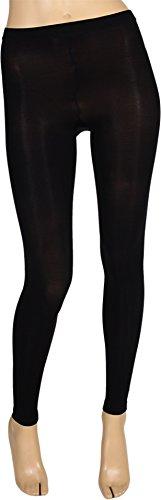 Bloch Women's Footless Tight Black Pantyhose -