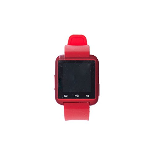 Bluetooth Smartwatch for iPhone 6S/5/5S/Samsung S6/Note 5 (Red) by Watch International