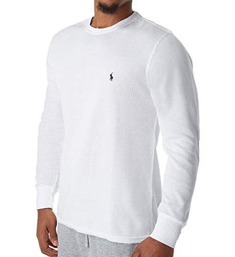 Polo Ralph Lauren Lightweight Waffle Long Sleeve Crew Sleep Shirt (PW74FR) -