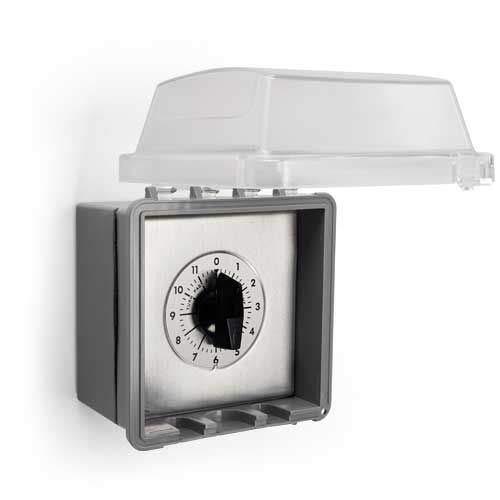 HPC Fire Nema 3R Box Enclosure w/Mounted 694 2hr. Timer Inside