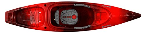 Perception Sound 10.5 | Sit Inside Kayak For Adults | Recreational and Fishing Kayak | 10' 6' | Red Tiger