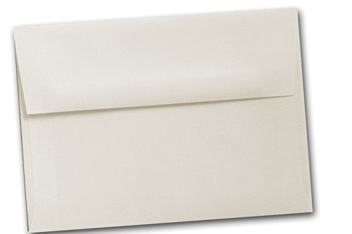 Classic Linen A7 Envelopes - 50 Pk (Natural White) - Neenah Classic Linen Natural