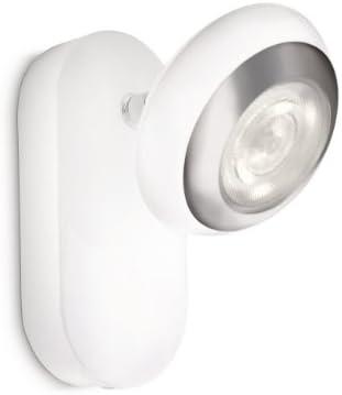 Philips LED-Wandspot 1-flammig 3 W, weiß 571703116