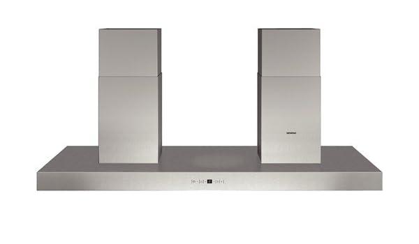 Siemens LF359BA80 - Campana (Canalizado/Recirculación, 1440 m³/h, 65 Db, Empotrable en techo, Halógeno, Acero inoxidable): Amazon.es: Hogar