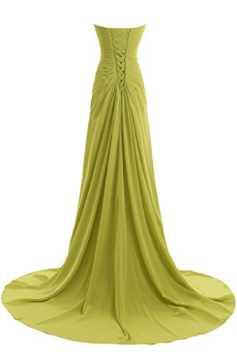 Missdressy - Vestido - trapecio - para mujer Dunkelgruen 2 mes