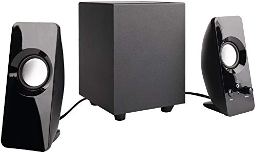 AmazonBasics AC-2.1A 2.1 8W Computer Speakers with Subwoofer (Computer Subwoofer Only)