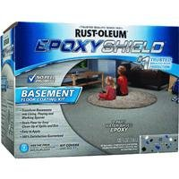Rust-Oleum 203007 Basement Floor Kit, (Epoxy Concrete Paint)