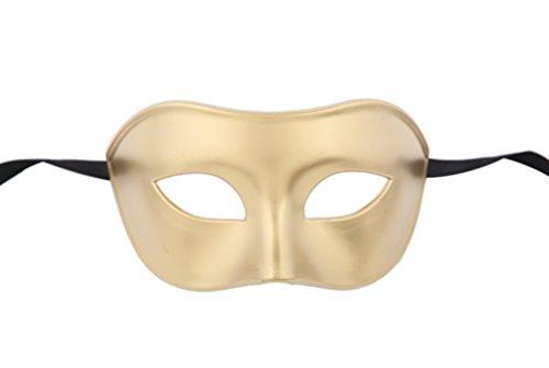 Luxury Mask Venetian Party Men's Masquerade Mask Bronze]()