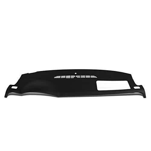 DNA MOTORING ZTL-Y-0078-BK ABS Dash Board Skin Cover Cap Overlay (Black)