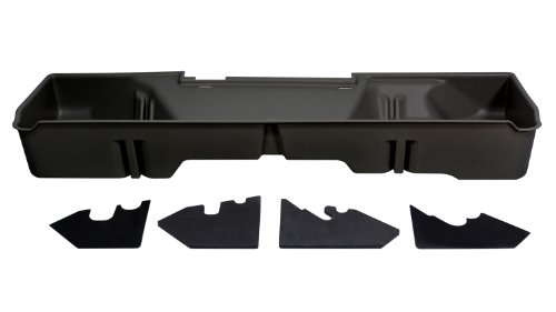 DU-HA Under Seat Storage Fits 07-13 Chevrolet/GMC Silverado/Sierra Extended Cab, Dk Gray, Part #10045 (Cab Gmc Heavy Extended Duty)
