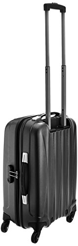 03946d57d050 American Tourister Polycarbonate 55 cm Gun Metal Softsided Cabin Luggage  (38W (0) 58 001)  Amazon.in  Bags