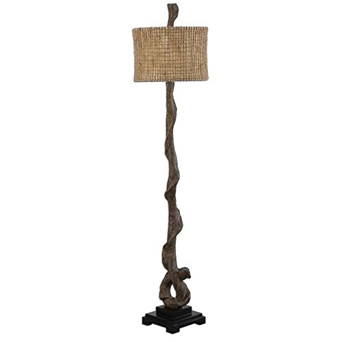 Uttermost 28970 Driftwood Floor Lamp, Brown (Uttermost Rustic Floor Lamp)