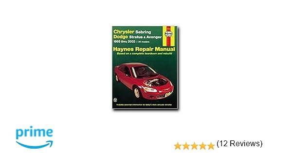 Haynes 25040 chrysler sebring 95 02 0038345250408 amazon books fandeluxe Gallery