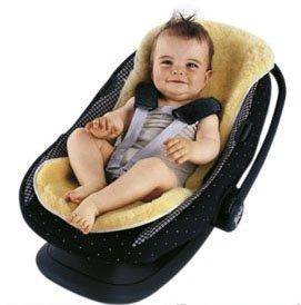 Sheepskin Stroller/Car Seat Liner: Amazon.co.uk: Baby
