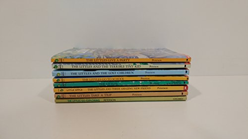 8 Books: The Littles Series Set - The Littles, The Littles Take a Trip, The Littles Give a Party, The Littles Go Exploring, The Littles Go to School, The Lost Children, The Terrible Tiny Kid, Their Amazing New Friend (The Littles Book Set Series) - Little Scholastic Series