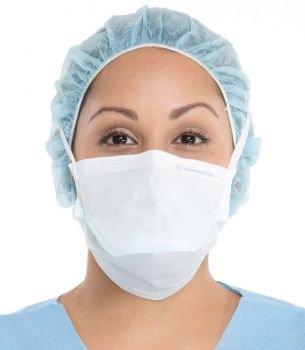 Kimberly Clark Duckbill Surgical Mask - Blue - 300 per Case