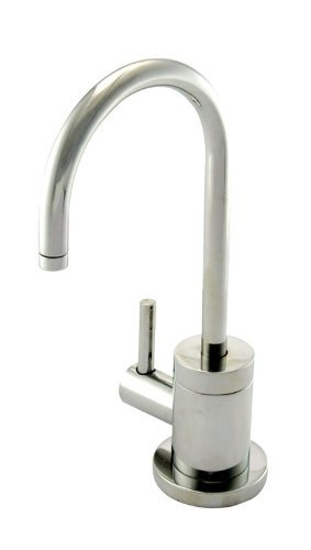 Newport Brass 106H/15A East Linear Single Handle Hot Water Dispenser from the 940 Series, Antique Nickel (Pewter)