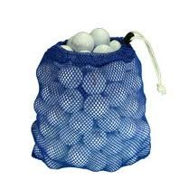 100 Ball Mesh Bag Hit Away Practice Used Golf Balls by Unknown