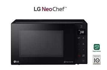 LG Horno Microondas + Grill mh7235gps Capacidad de 32L 1350 W Negro