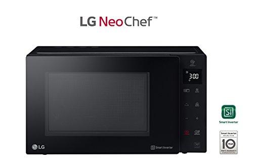 LG Horno Microondas + Grill mh7235gps Capacidad de 32L 1350 W Negro: Amazon.es: Hogar
