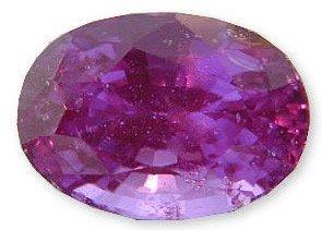 Fuschia Sapphire (Beautiful Hot Pink-Fuschia Sapphire Gemstone 2.46 carats)
