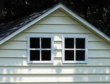Shed Windows 12'' x 12'' White Flush Mount Safety Glass by Shed Windows and More (Image #3)