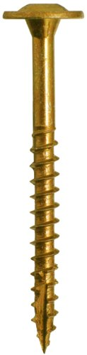 Cabinet Screw - GRK CAB8318B Cabinet Bulk 8 by 3-1/8-Inch Screws, 1000 Screws per Box