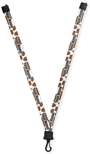 Cow Print Lanyard (Personalized) -