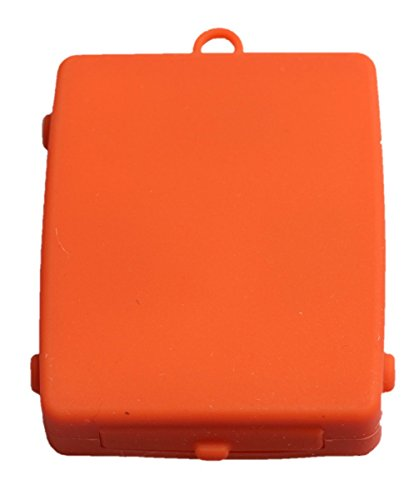 Tac-Touch Pocket Type Watch Color:Pure Orange Unisex. Presenting time by tactile vibration. by Tac-Touch