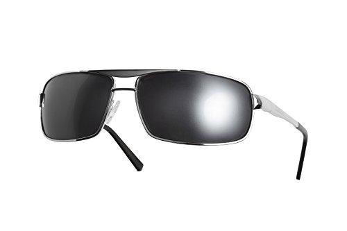 91fa0a90fe8 Dillon Optics Colt Sunglasses Polarized (Shiny Silver