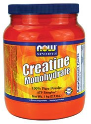 NOW Creatine Monohydrate 1000 Grams - Unflavored
