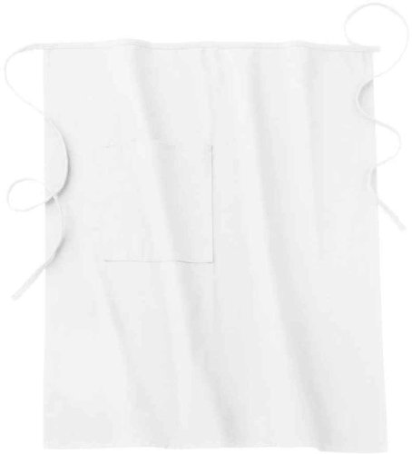 (Five Star 18024 Adult's Long Bistro Apron White One Size)