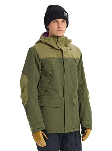 - Burton Men's Breach Jacket, Keef/Martini Olive, Large