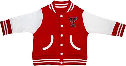 (Texas Tech Raiders Varsity Jacket Red)