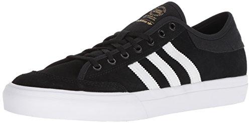 adidas Originals Men's Matchcourt Running Shoe, Black White, 7 M US ()