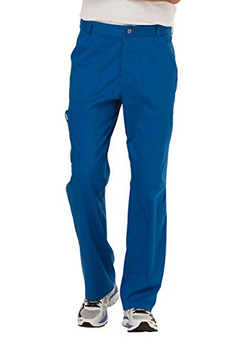 Cherokee Men's Fly Front Pant Short, Royal, Large from Cherokee