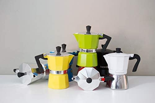 Barazzoni Moka - Cafetera híbrida 3 TZ, apta para placas de inducción, acero: Amazon.es: Hogar