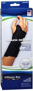 Sport Aid Deluxe Wrist Brace Black XL Right - 1 ea., Pack of 6 by SportAid
