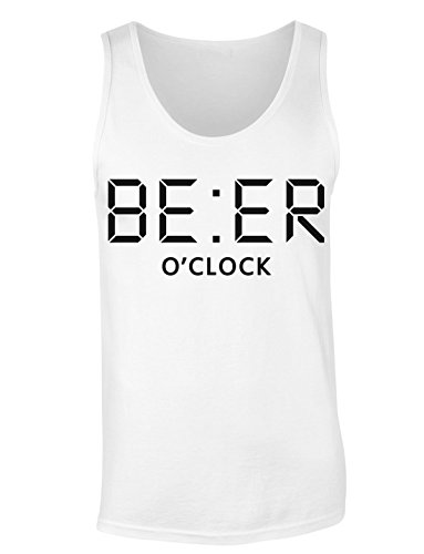 BE:ER O'Clock Digital Clock T-shirt senza maniche per Donne Shirt