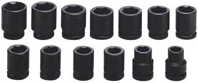 Wright Tool 84748 3-Inch 12 Point Impact Socket with 1-1//2-Inch Drive