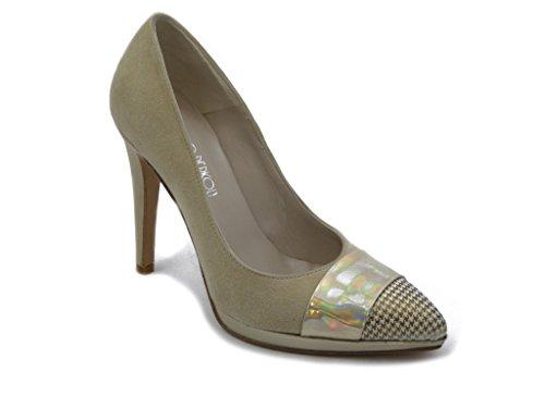 OSVALDO PERICOLI Women's Court Shoes Beige yV8yJDakr